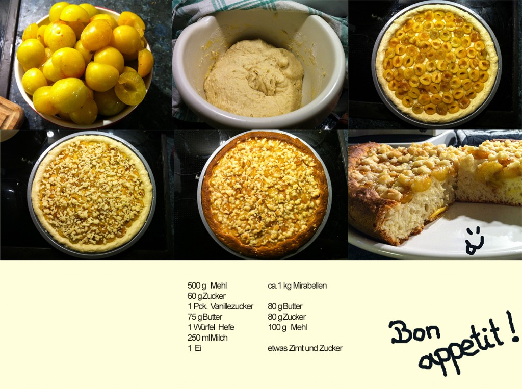 Mirabellen-Streuselkuchen