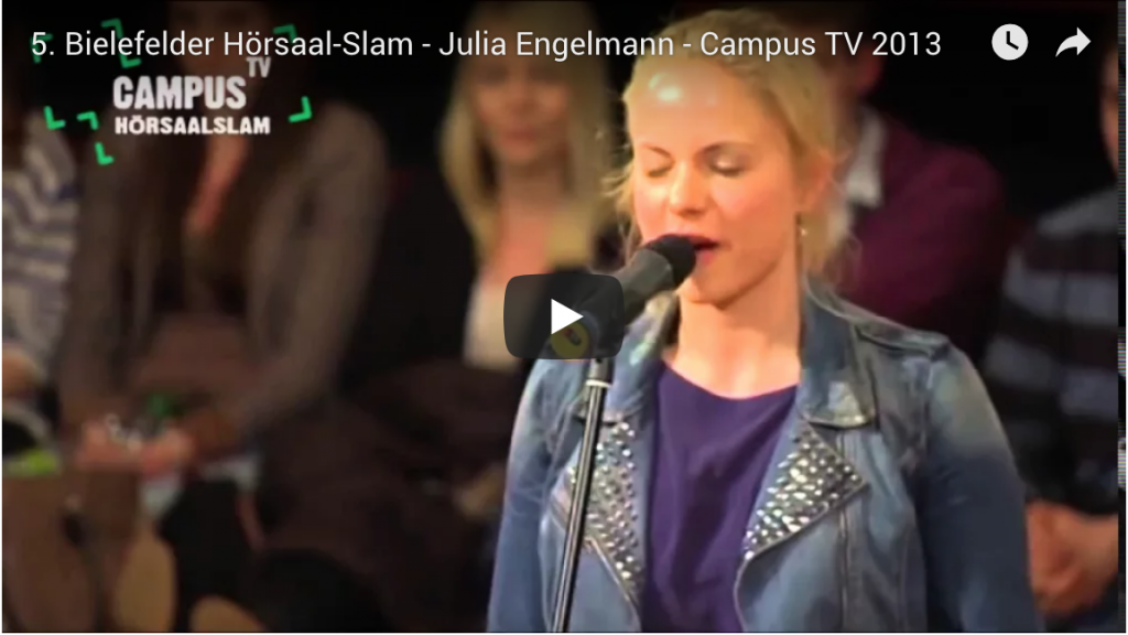 Julia Engelmann Youtube
