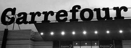 Carrefour, ein französischer Supermarkt